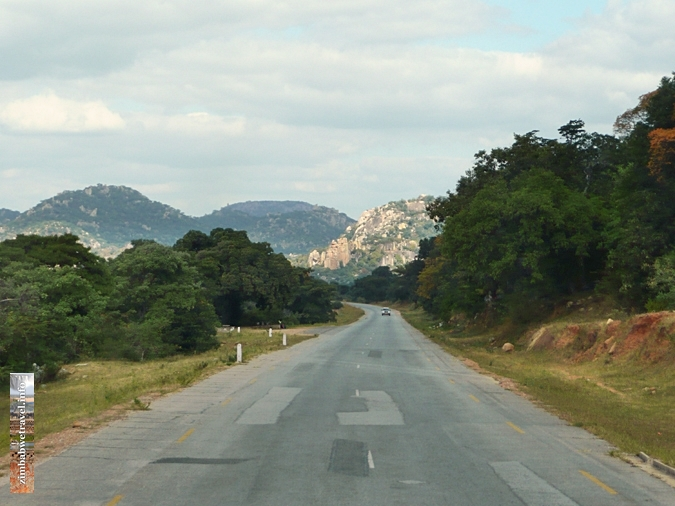 Secondary road in Zimbabwe