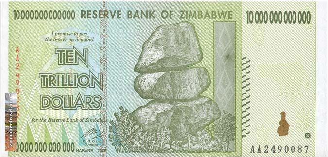What currency will I be using in Zimbabwe?