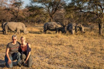Rhino Tracking in Matobo National Park